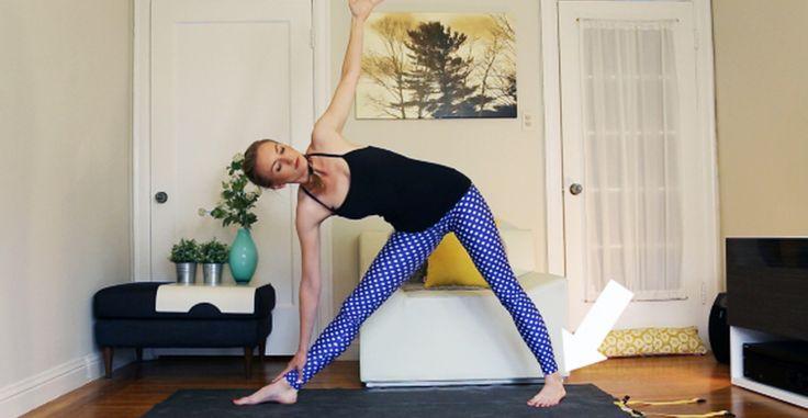 Yoga Fix 1 #yoga http://greatist.com/move/triangle-pose-yoga-fix