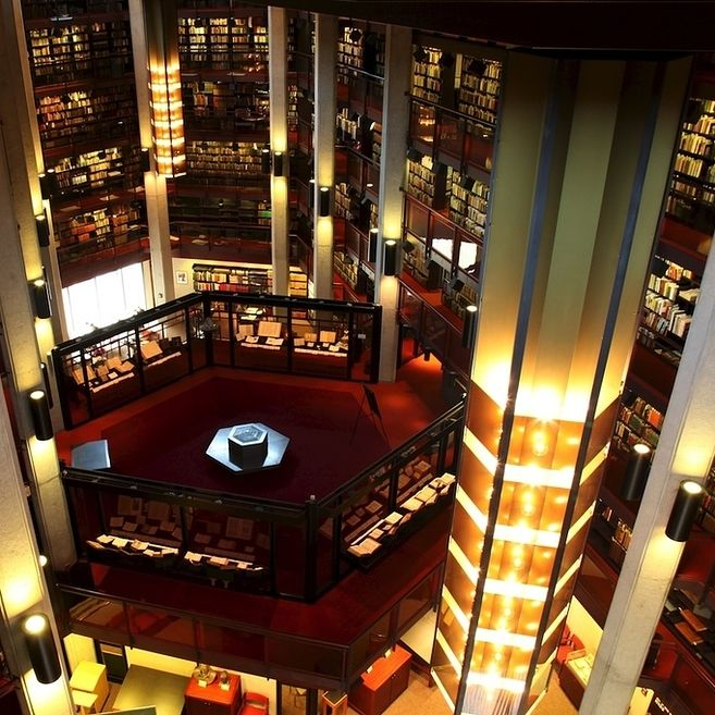 Thomas Fisher Rare Book Library at University of Toronto — Toronto, Canada | Community Post: 49 Breathtaking Libraries From All Over The World