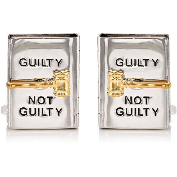 Jan Leslie Men's Spinning Gavel On Book Cufflinks ($395) ❤ liked on Polyvore featuring men's fashion, men's accessories, cuff links, silver and mens cuff links