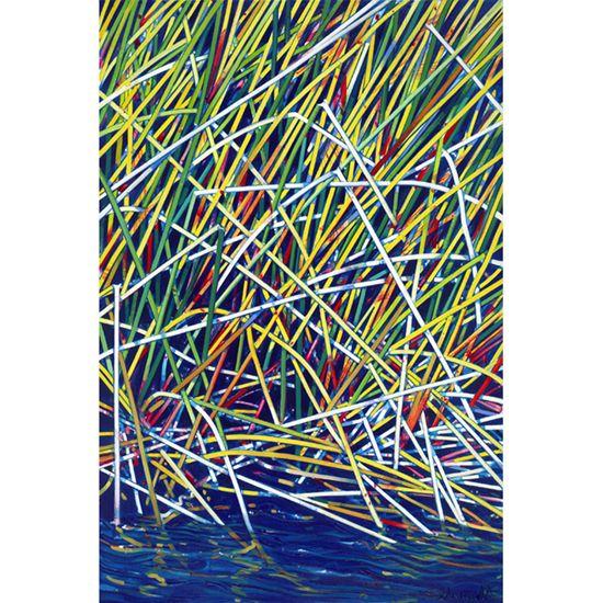 """River Sedge"" limited edition by Susan Schmidt"