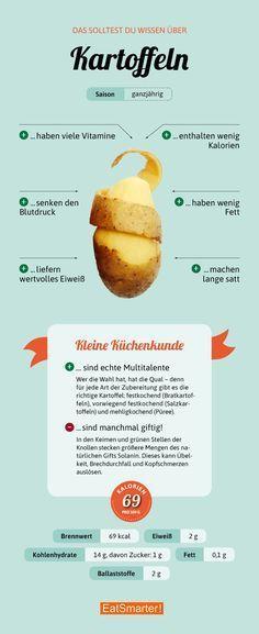 Das Wichtigste, was Sie über die Kartoffel wissen müssen.   – Gesunde Ernährung
