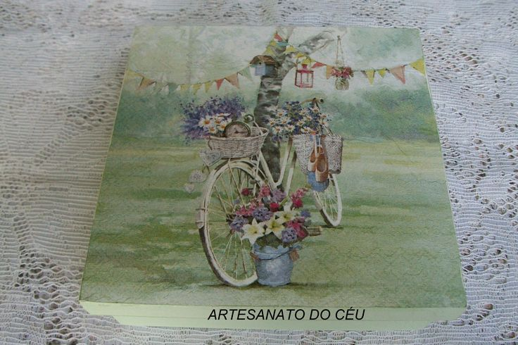 Caixa Bike Verde Primavera- R$ 20,00 Cod. PCX 173