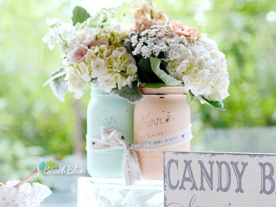 Matrimonio Rustico Shabby Chic : Oltre fantastiche idee su vaso centrotavola