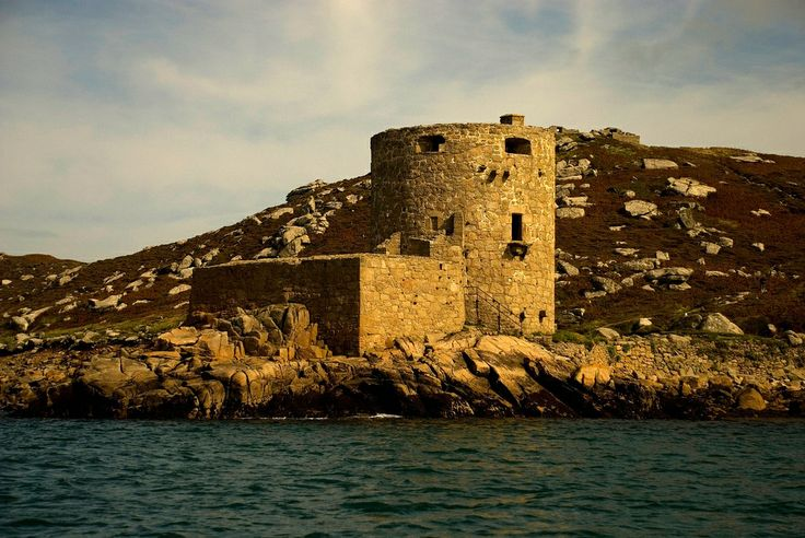 Cromwell's Castle, Tresco, Isles of Scilly  Cornwall