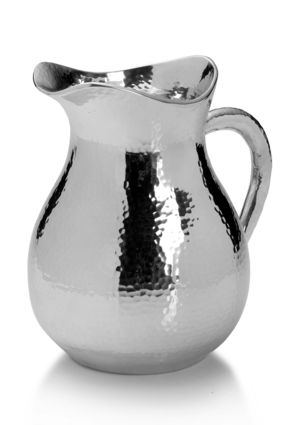Towle Hammered aluminum pitcher