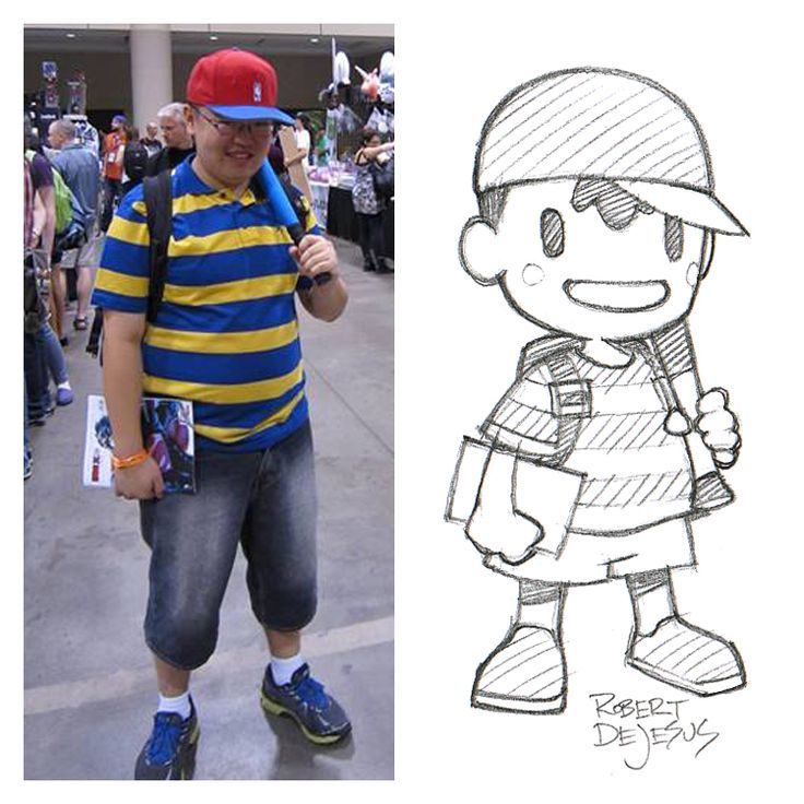 Ness Sketch by Banzchan Robert De Jesus on deviantART
