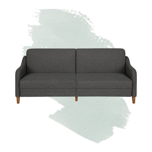 Joy 77 Wide Round Arm Sleeper Furniture Sleeper Sofa Sleeping Arrangement