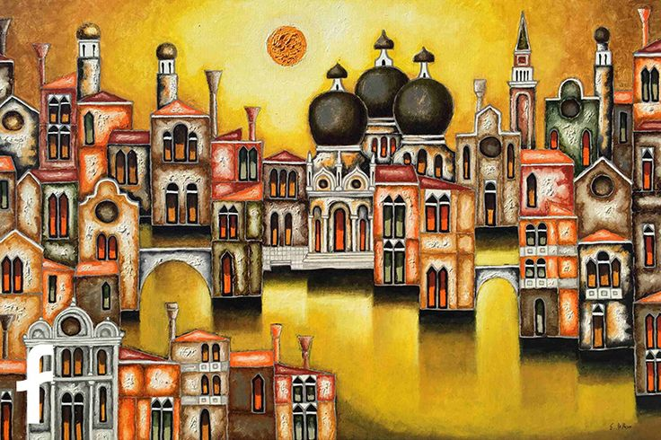 Elio De Pasco olio su tela - artista contemporaneo figurativo trieste