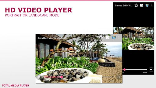 Total Media Player Pro v1.7.8   Total Media Player Pro v1.7.8Requirements:4.0 and upOverview:Ad free version of Total Media Player. All new features and bugs fix will arrive here first.  Supported audio-video file formats: mp4 mkv m4v mov flv avi rmvb rm ts tp torrent ace live webm mpg m3u8 m3u mp2 wav mp3 aac vob and many others  Supported media protocols: http https mms rtsp sopcast podcast hls (m3u8) ace stream rtmp rtmpe sop ftp iptv and many others  Main Features:  - Ultra HD video…