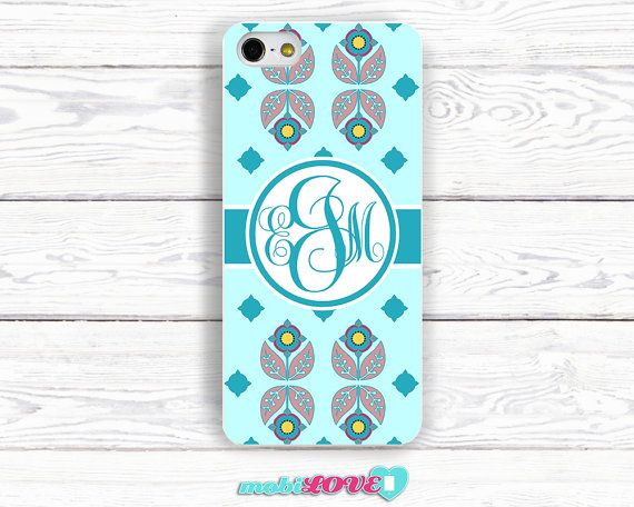 Hand Made Personalized Flower Pattern  Hard Case for by MobiLove, £10.00