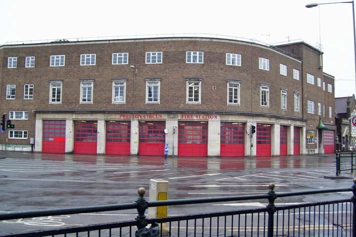 Preston Circus Fire Station
