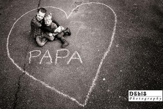 Vatertag Fotografie Herz