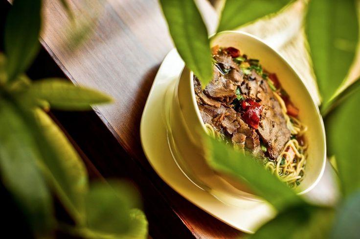 Gemüse, Nudeln und Reis im Restaurant Peking Ente Berlin