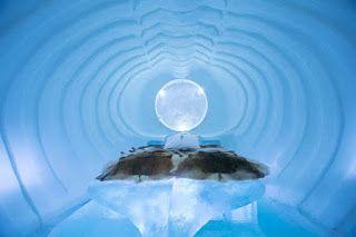 NEWS & SPORT 360°: San Valentino, dall'hotel di ghiaccio al bagno di ...