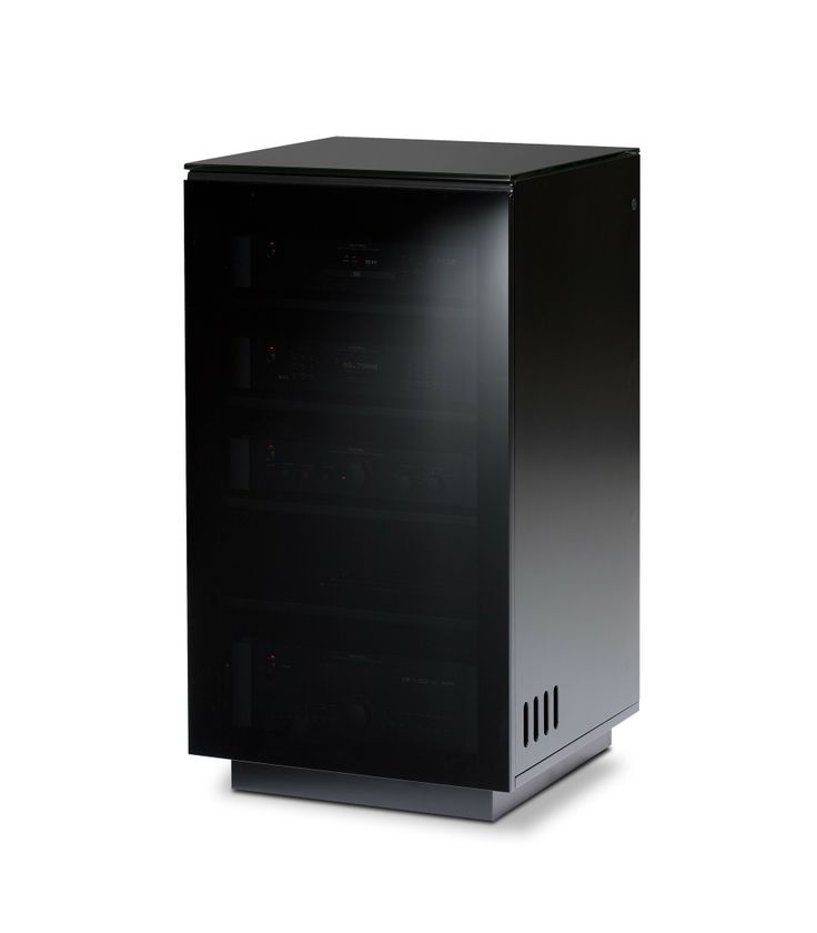 BDI Mirage 8222 Black Designer Hifi Furniture For Home Audio Systems.  Mirage 8222 Is An Attractive Addition When Used With The Mirage Cabinet Or  Onu2026