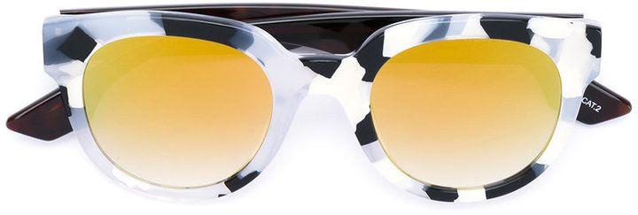 McQ Alexander McQueen contrast lens sunglasses