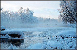 Talvinen joki
