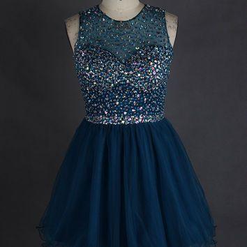 short grade 8 grad dresses sparkly - Google Search