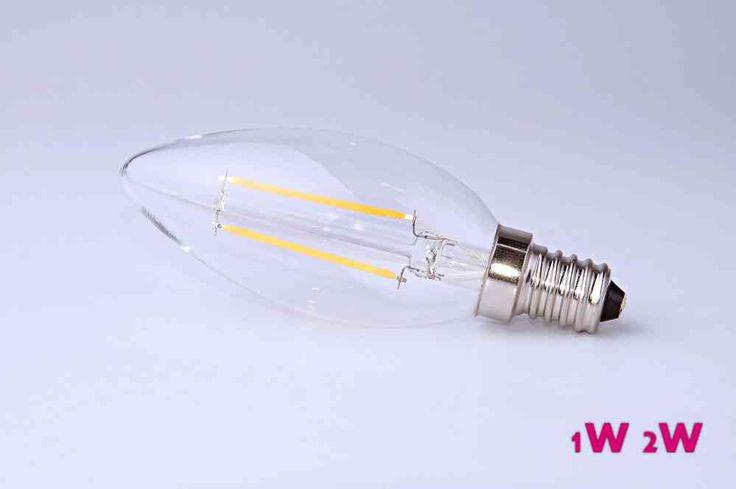 sunlights LED E14 2W 230lm 2700K dimmbar EEK A+ TÜV