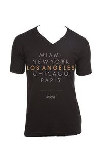 Ardané City of Angeles V neck Tee $32.95