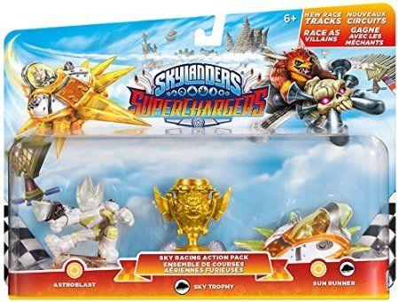 Figurine Skylanders : Superchargers - Racing Pack : Ciel - vague 1