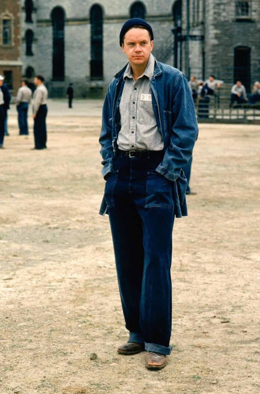 """Legend.. Tim Robbins in """"The Shawshank Redemption"""""""