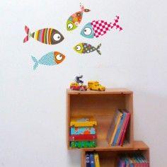 Sticker poisson 2 - Série-Golo