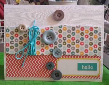 hello card by rosaliejb at Studio Calico