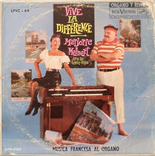 Marjorie Meinert - Vive La Différence - Musica Francesa Al Organo at Discogs