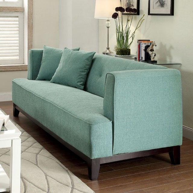 Sofia Blue Love Seat Collection CM6761BL-LV Description : This modern sofa features a tried and true design, making it a favorite living room piece. Plush seating and expert upholstery promise long-la