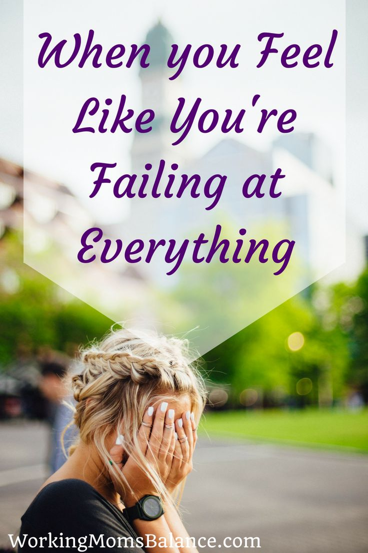 "Do you find yourself saying, ""I feel like I'm failing at everything!"" on a regular basis? I've been there too. But there is hope. You weren't meant to do everything, you were created to do one thing. If you feel like you are failing at everything click here to find out your true purpose."