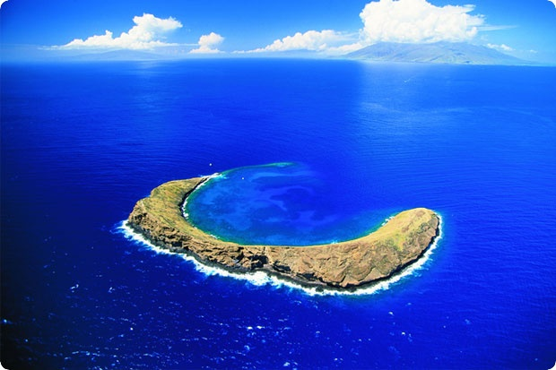 Molokini Crater, Maui. Great snorkel site!