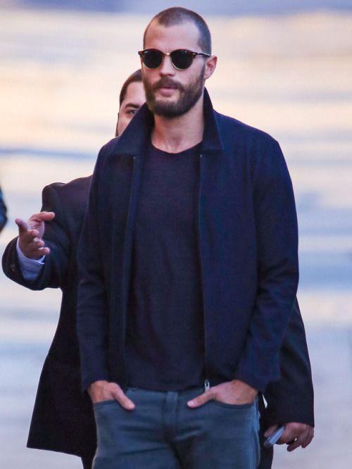 Jamie Dornan arriving at Jimmy Kimmel Live in LA – 31 January 2017 Click on for …