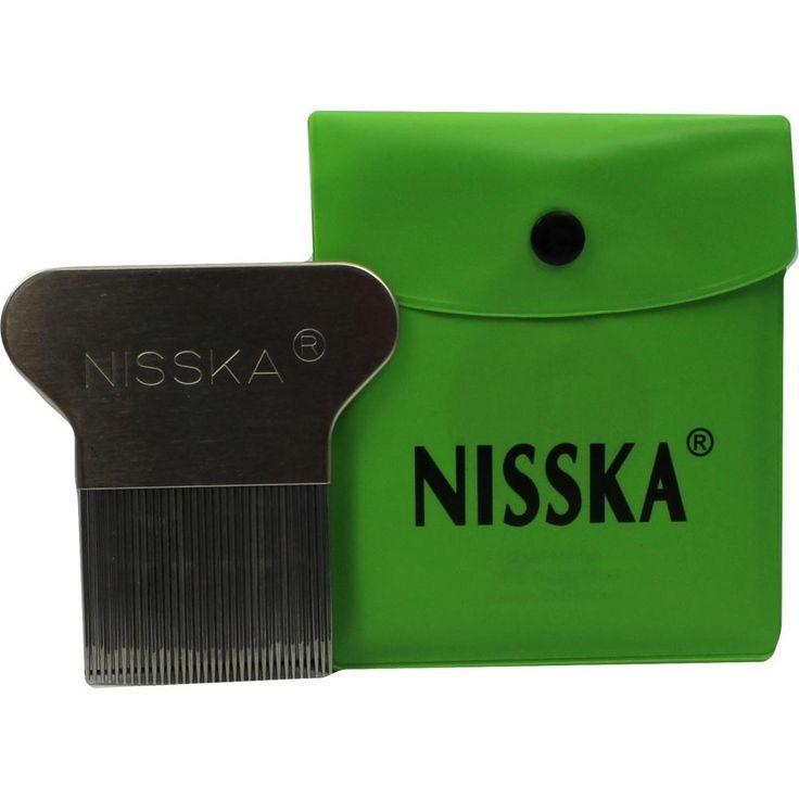 NISSKA Laeuse- und Nissenkamm Metall:   Packungsinhalt: 1 St PZN: 09710513 Hersteller: Fritz B. Mueckenhaupt Erben OHG Preis: 8,51 EUR…