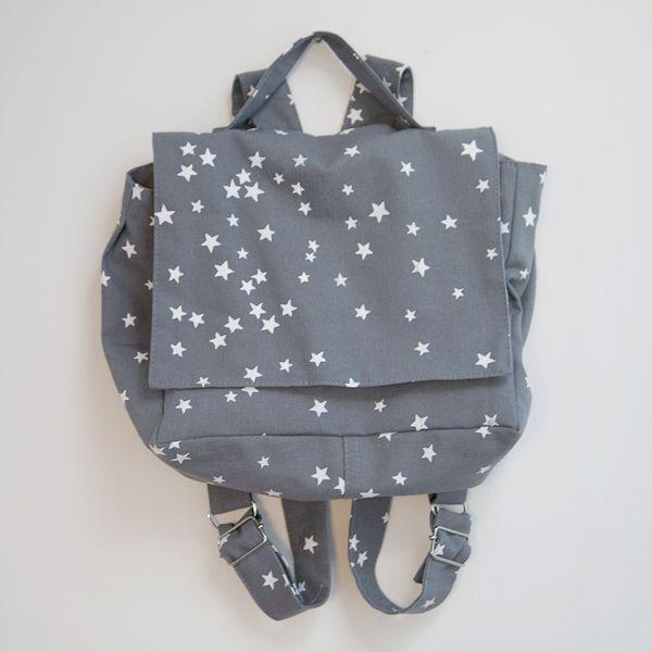 mochila estrellitas | bla bla textiles