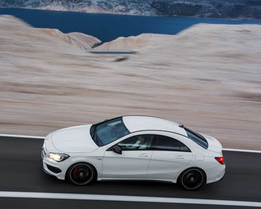 Just a glance shows that the CLA 45 AMG combines a unique style with typical AMG DNA to make it a perfect representative of the AMG's Driving Performance brand claim. #AMG http://www.mercedes-amg.com/webspecial/cla45