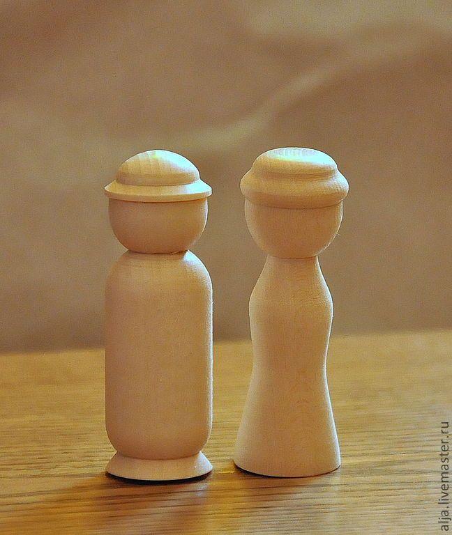 Купить Деревянные куколки-пары - персонажи для сюжетной игры - вальдорфская кукла, вальдорфские куколки
