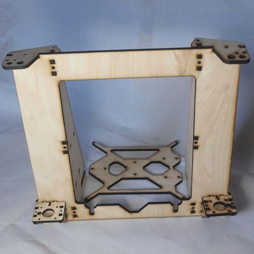 46.99$  Buy here - http://alivsg.worldwells.pw/go.php?t=1985967167 - 3 D printer parts reprap  mendel prusa I3 improved laser cut frame wooden in 6mm plywood  free shipping