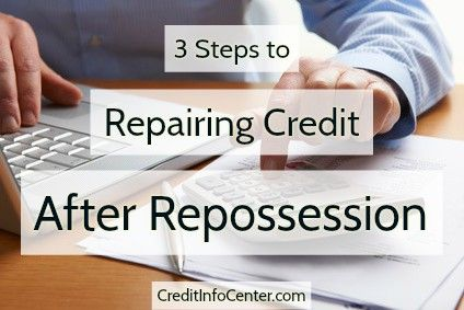 Steps to Repair Credit After Repossession