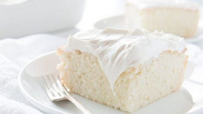 Το «κέικ των αγγέλων»: Το λευκό βελούδινο κέικ που λιώνει στο στόμα. - Newsup.gr