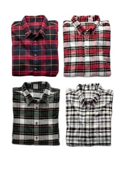 Eddie Bauer men's flannel shirts