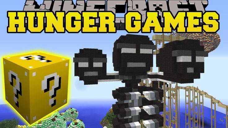 Pat And Jen Minecraft: MADNESS MEDLEY HUNGER GAMES - Lucky Block Mod - M...