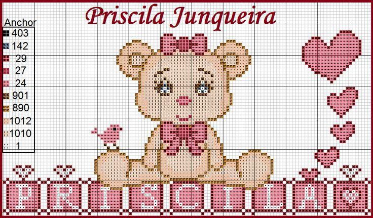 Priscila Junqueira Ponto Cruz: Ursinhos Fofinhos
