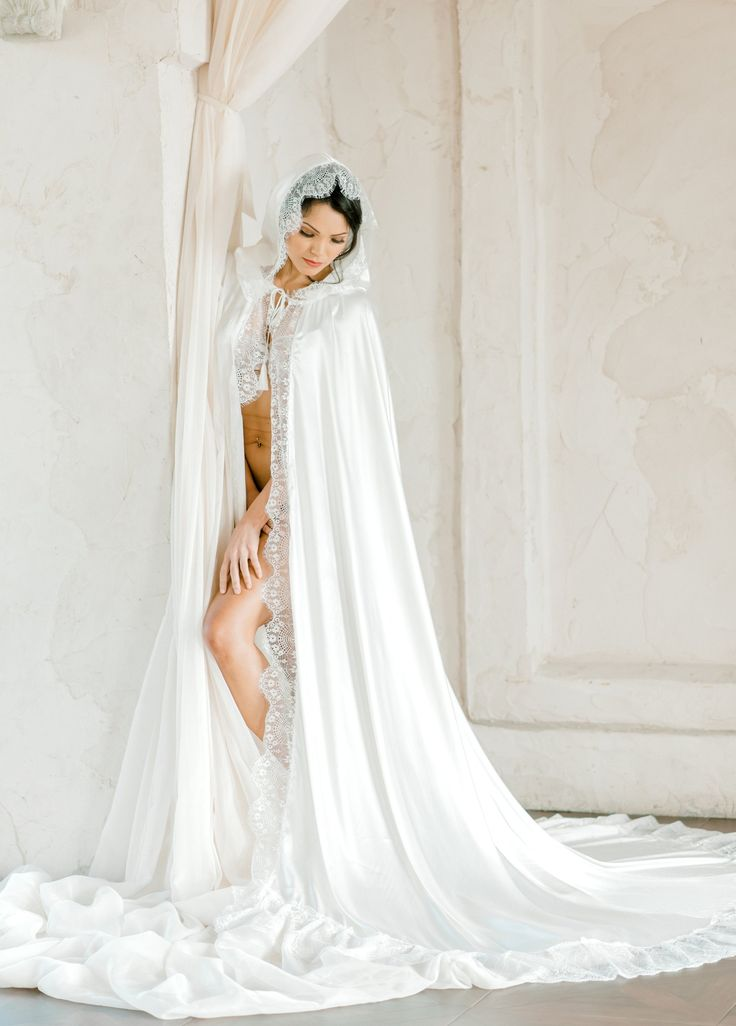34+ Wedding dress with cape and hood ideas in 2021