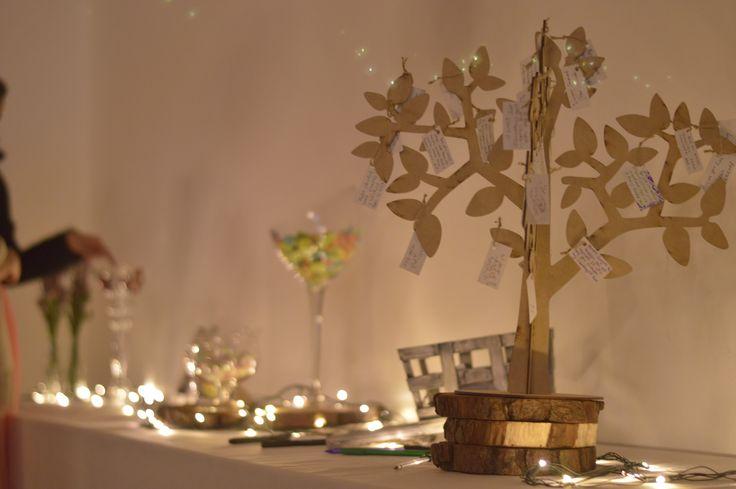 Árbol de deseos. #DecoraciónBoda