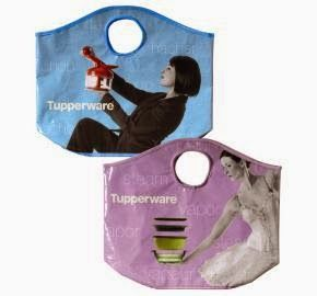 HI-HO HI-HO WITH TUPPERWARE WE GO: Tupperware® Eco Fashion Bags On Sale Thru June 27 No more plastic bags for you. Go shopping, to the gym, etc in style with this eco-friendly bags. Now through June 27 you can get both bags for $9. Visit my website at www.my.tupperware.com/lindacwilson to more the complete line of Tupperware's summer items and/or to place your order.