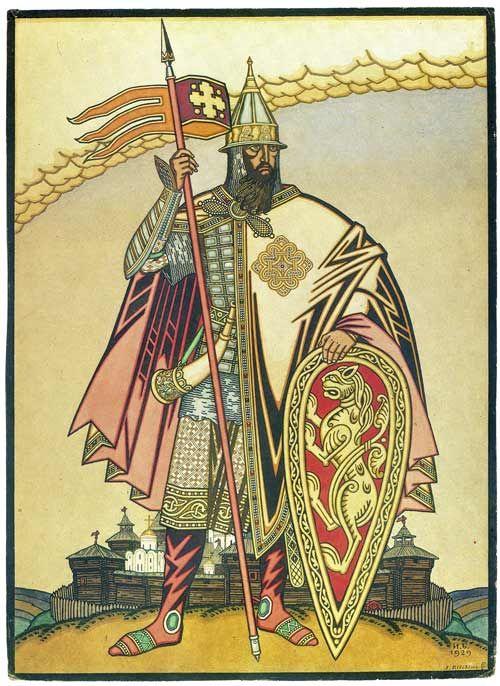 Prince Igor, 1929, Ivan Bilibin