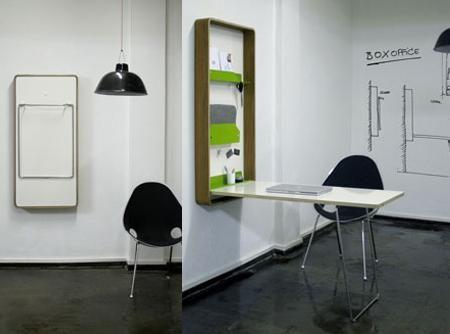 Ideas de diseños de mesas rebatibles para ahorrar espacio en el hogar...