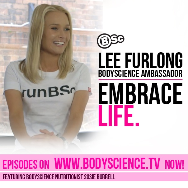 Proud to announce Lee Furlong as a bodyscience ambassador! Check out her interviews with Susie Burrell at www.bodyscience.tv