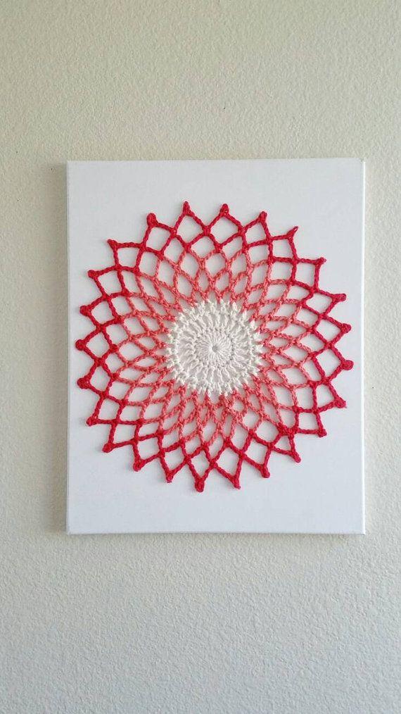 20 best Crochet Art images on Pinterest   Crochet wall art ...